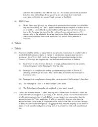 Sample Doctors Note For Travel Cancellation Southwest Passenger Agreement Contract Of Carriage