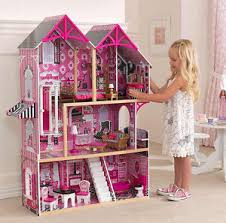 barbie furniture dollhouse. Image Is Loading Girls-Dolls-House-Tall-Barbie-Castle-Pink-Furniture- Barbie Furniture Dollhouse M