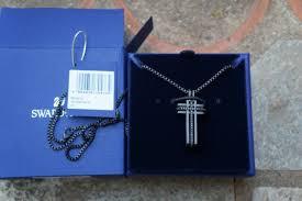 swarovski 5070473 bengal cross pendant