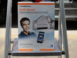 chamberlain garage door opener myqChamberlain MyQ Garage Universal Smartphone Garage Door Controller