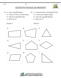geometry worksheets riddles geometry riddles 3b · geometry riddles 3b answers