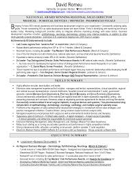 Resume Template Surgical Sales Rep Resumes Examples Med Surg Tele Nurse Job  Description