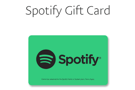 paypal offers gift cards for spotify premium individual accounts