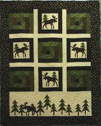 177 best quilt ideas images on Pinterest | Blogging, Crafts and ... & Moose In The Cabin Quilt Kit & Pattern Adamdwight.com