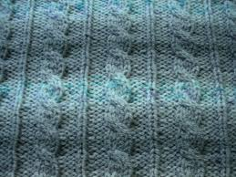 Cable Knit Blanket Pattern Cool Decoration