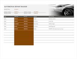 New Xcell Auto Repair Car Repair Tracker