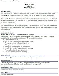 ... Personal Interests On Resume Examples 17 Related Post Of Cv Writing  Section ...