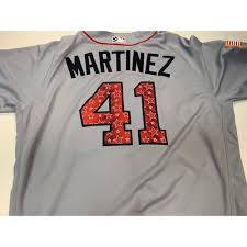 2018 Victor Martinez Jersey Stripes Game-used Tigers Stars And Auctions