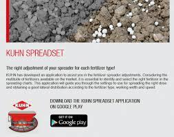 Kuhn Spreader App Hawkins Agri Ltd New Holland Tractors