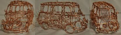 Wire Art Vw Van Wire Art Robert Bucur By Robytoxic On Deviantart