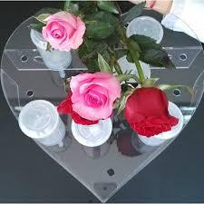Push Pop Display Stand Heart Shaped Acrylic Cake Push Up Pop Display Stand Holder 100 48