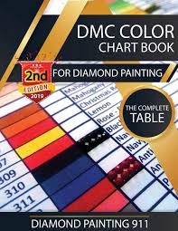 • these charts are to be used for reference only. Dmc Color Chart Book For Diamond Painting The Complete Table 2019 Dmc Color Card Painting 911 Diamond 9781947880078 Amazon Com Books