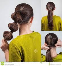 Hair Style Simple simple hairstyle tutorial stock photo image 68760203 5831 by wearticles.com