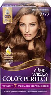 <b>Краска д</b>/<b>волос WELLA Color</b> perfect 7/77 Темный лесной орех ...