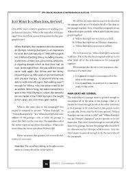First Grade Reading Main Idea Worksheets | Homeshealth.info