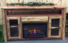 tv stand electric fireplace large size of fireplace stand for stylish rustic log cabinet with tv