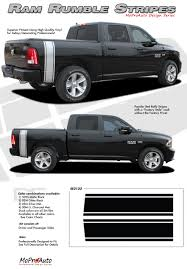 2018 Ram Color Chart Details About Rear Bed Rumble Bee Rt Stripes Vinyl Graphics Decals 3m Fits 2009 2018 Dodge Ram