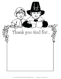 Free Thanksgiving Coloring Pages For Sunday School Biblical