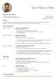 Mobile Developer Resume Resume Examples By Real People Mobile Developer Resume Example