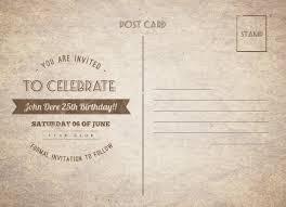 Vintage Birthday Postcard