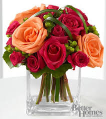 the ftd deep emotions bouquet by better homes and gardens vase included