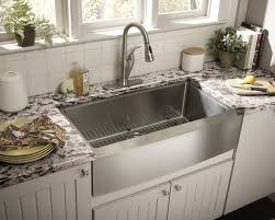 Kitchen Sinks With Granite Countertops Interior Decoration The Apron Front Kitchen Sink Features With