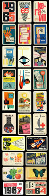 Vintage Graphic Design Ideas A Huge Collection Of Hungarian Mid Century Pocket Calendars