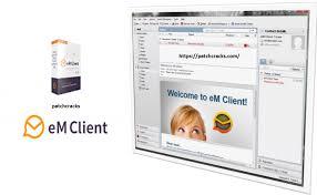 eM Client 8.2.1233.0 Serial Key & Patch Free Download