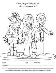 Small Picture Coloring Pages Career Day Coloring Pages Printable Coloring Pages