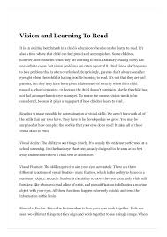 Vision And Learning To Read