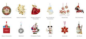 Annual Ornaments Annual Christmas Ornaments Macys