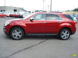 Crystal Red Tintcoat 2013 Chevrolet Equinox LTZ AWD Exterior Photo ...