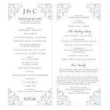 Catholic Wedding Ceremony Program Templates Catholic Church Wedding Program Template Memokids Co