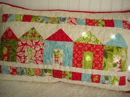 Quilted Pillow Shams: Patterns & Projects to Try & Pillow Sham Quilted with House Design Adamdwight.com