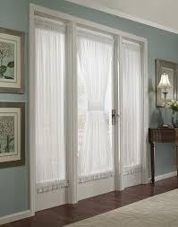 large size of crushed voile rod pocket side light window curtain panel 3 set white sheer