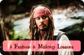the first time i laid eyes on capn jack sparrow