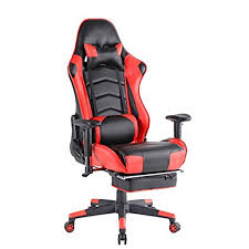 Gaming Chair Game Chair (Red,1)