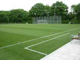 First artificial turf soccer pitch with Neopolen P in Germany