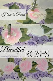 how to paint roses a simple and easy tutorial to help you paint your best roses yet the demonstrates a nifty trick to making them look gorgeous