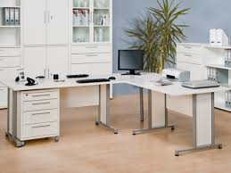 corner office cabinet. View Larger Gallery Maja, Harmony, Modern Corner Office Desk In Matt White Finish With Pedestal A Cabinet