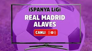 Canlı maç izle Real Madrid Alaves Spor Smart canlı izle - Tv100 Spor