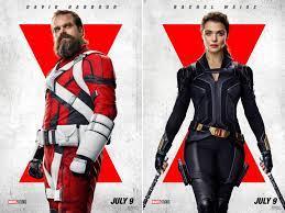 Posters Arrive For 'Black Widow' - Zedista