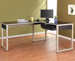 modern glass office desk modern glass desk desk design best glass l shaped desk designs minimalist modern glass office desk