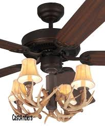 52 ceiling fan with light lodge 4 antler kit for hampton bay farmington