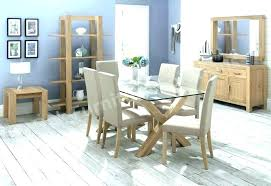 glass dining table with chairs 6 chair dining table set round glass dining table for 6