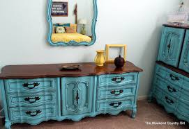 Turquoise French Provincial Furniture
