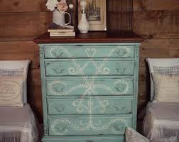 pictures of chalk painted furnitureChalk paint furniture  Etsy