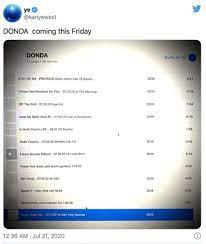 Kanye West's Album Donda: Where is it ...