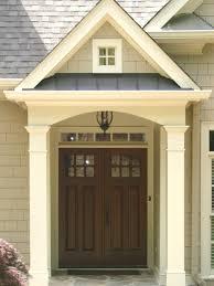brown front doorBrown Front Door Colors