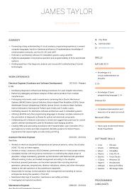 Electrical Designer Resume Example Electricalgineering Resume Sample Maintenancegineer Samples